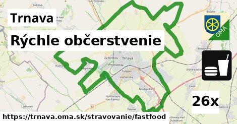 rýchle občerstvenie v Trnava