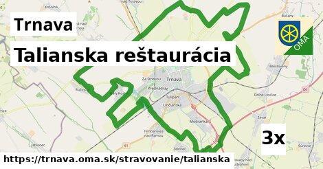 talianska reštaurácia v Trnava