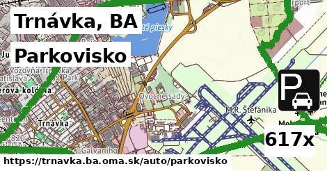 parkovisko v Trnávka, BA
