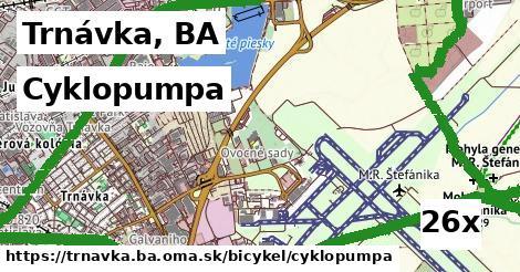 cyklopumpa v Trnávka, BA