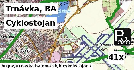 cyklostojan v Trnávka, BA
