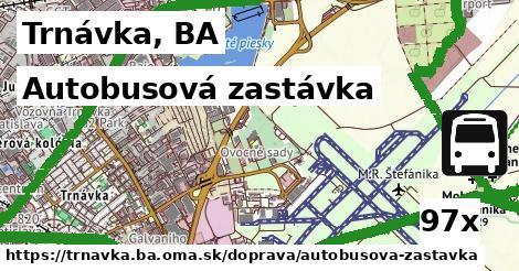 autobusová zastávka v Trnávka, BA