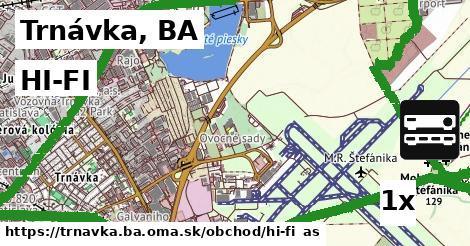HI-FI v Trnávka, BA