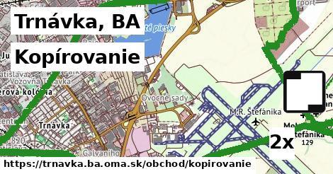kopírovanie v Trnávka, BA