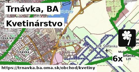 kvetinárstvo v Trnávka, BA
