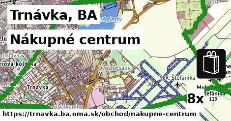 nákupné centrum v Trnávka, BA