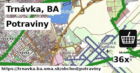 potraviny v Trnávka, BA
