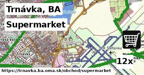 supermarket v Trnávka, BA