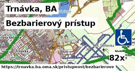 bezbarierový prístup v Trnávka, BA
