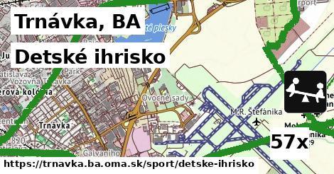 detské ihrisko v Trnávka, BA