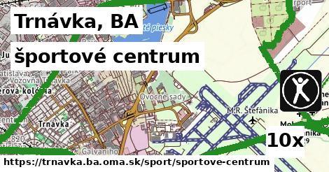 športové centrum v Trnávka, BA