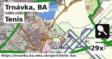 tenis v Trnávka, BA