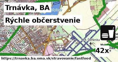 rýchle občerstvenie v Trnávka, BA