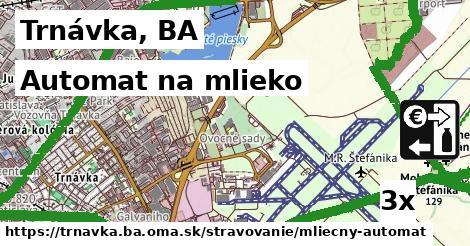 automat na mlieko v Trnávka, BA