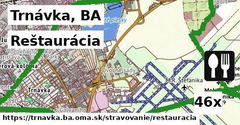 reštaurácia v Trnávka, BA
