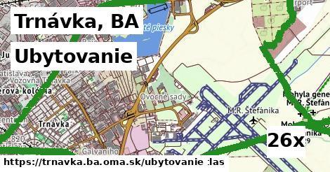 ubytovanie v Trnávka, BA