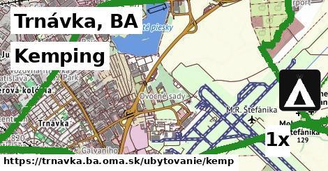 kemping v Trnávka, BA