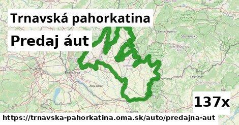 ilustračný obrázok k Predaj áut, Trnavská pahorkatina