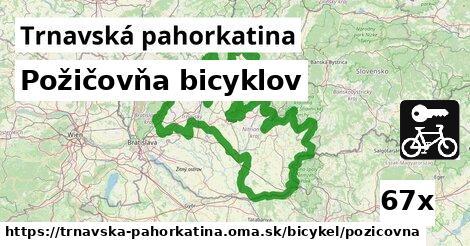 ilustračný obrázok k Požičovňa bicyklov, Trnavská pahorkatina