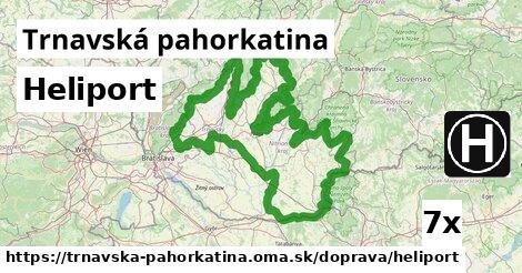 ilustračný obrázok k Heliport, Trnavská pahorkatina