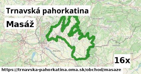 ilustračný obrázok k Masáž, Trnavská pahorkatina