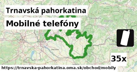 ilustračný obrázok k Mobilné telefóny, Trnavská pahorkatina