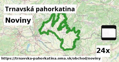 ilustračný obrázok k Noviny, Trnavská pahorkatina