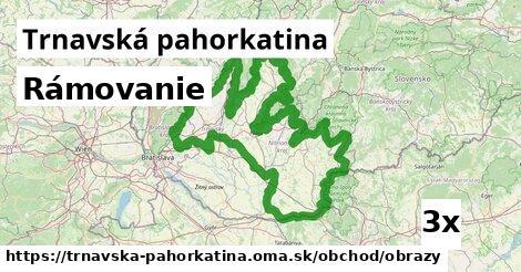 ilustračný obrázok k Rámovanie, Trnavská pahorkatina