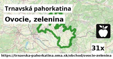 ilustračný obrázok k Ovocie, zelenina, Trnavská pahorkatina