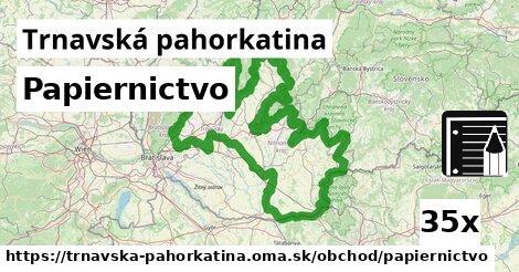 ilustračný obrázok k Papiernictvo, Trnavská pahorkatina