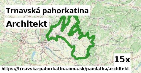 ilustračný obrázok k Architekt, Trnavská pahorkatina