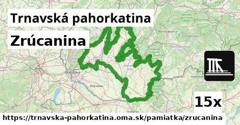 ilustračný obrázok k Zrúcanina, Trnavská pahorkatina