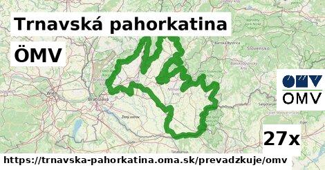 ilustračný obrázok k ÖMV, Trnavská pahorkatina