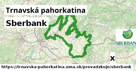 ilustračný obrázok k Sberbank, Trnavská pahorkatina