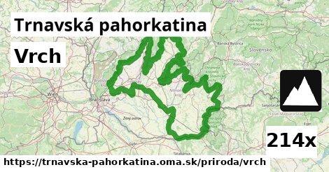 Vrch, Trnavská pahorkatina