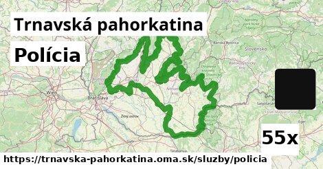 ilustračný obrázok k Polícia, Trnavská pahorkatina