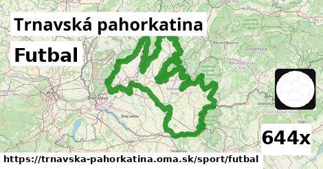 ilustračný obrázok k Futbal, Trnavská pahorkatina