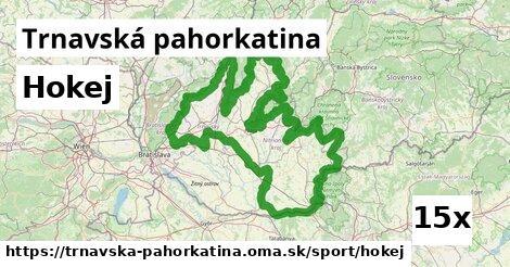 ilustračný obrázok k Hokej, Trnavská pahorkatina