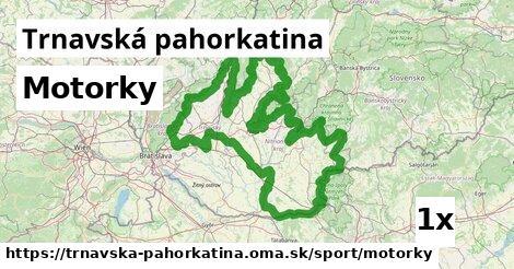 ilustračný obrázok k Motorky, Trnavská pahorkatina