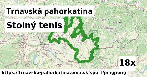 ilustračný obrázok k Stolný tenis, Trnavská pahorkatina