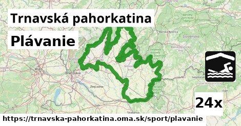 ilustračný obrázok k Plávanie, Trnavská pahorkatina