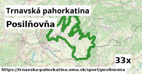ilustračný obrázok k Posilňovňa, Trnavská pahorkatina