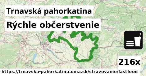 ilustračný obrázok k Rýchle občerstvenie, Trnavská pahorkatina