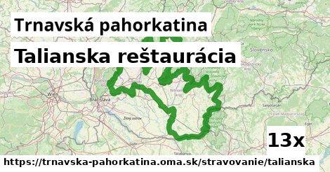 ilustračný obrázok k Talianska reštaurácia, Trnavská pahorkatina