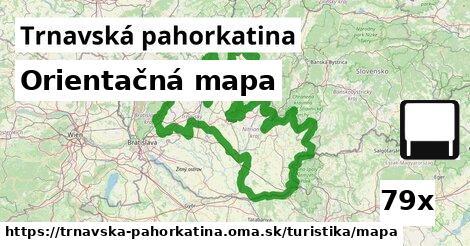 ilustračný obrázok k Orientačná mapa, Trnavská pahorkatina