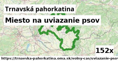 Miesto na uviazanie psov, Trnavská pahorkatina