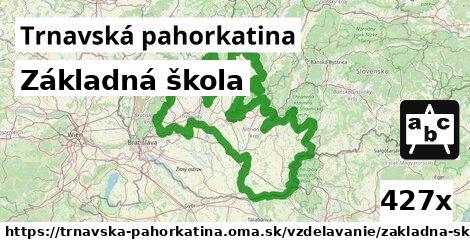 ilustračný obrázok k Základná škola, Trnavská pahorkatina