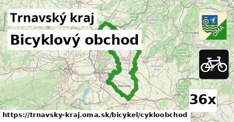 ilustračný obrázok k Bicyklový obchod, Trnavský kraj