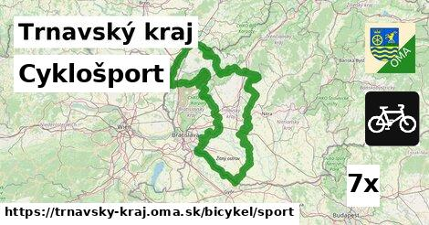 cyklošport v Trnavský kraj