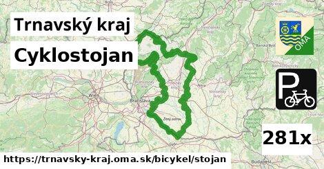 cyklostojan v Trnavský kraj